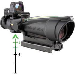 Trijicon ACOG 3.5x35 Illuminated Green 223 BDC Riflescope w/RMR Reflex Sight