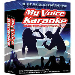 IPE Music My Voice Karaoke - Vocal Removal Software for Windows (Download)