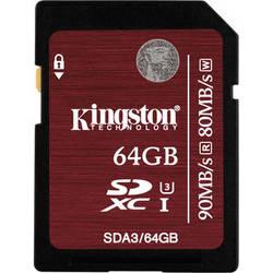 Kingston 64GB UHS-1 SDXC Memory Card (Class-10)