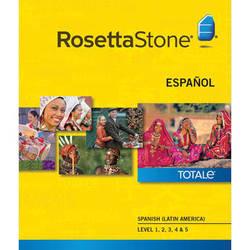 Rosetta Stone Spanish / Latin America Levels 1-5 (Version 4 / Mac / Download)
