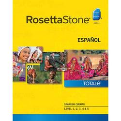 Rosetta Stone Spanish / Spain Levels 1-5 (Version 4 / Windows / Download)
