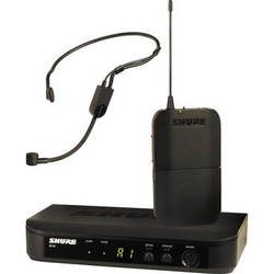 Shure BLX14/P31 Headset Wireless Microphone System (J10: 584 - 608 MHz)