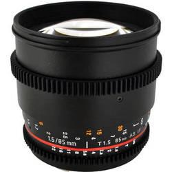 Rokinon 85mm T1.5 Cine AS IF UMC Lens for Micro Four Thirds