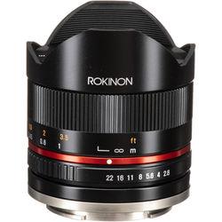 Rokinon 8mm f/2.8 UMC Fisheye II Lens for Sony E Mount (Black)
