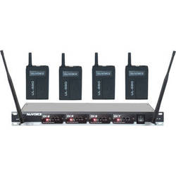 NuVoice UL-580 UHF Wireless Lavalier System (Frequency Set 3)