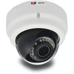 ACTi E62 3MP IR Day/Night Indoor Full HD IP Dome Camera with Basic WDR & 2.8 to 12mm Varifocal Lens