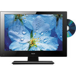 """RCA DECG13DR 13.3"""" AC/DC HD LED TV and DVD Combo"""