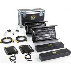 Kino Flo Interview DMX 2' 4Bank Two Light Kit (North American Plug)