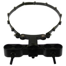 Cavision Cavision Lens Support with Trimmer Knob & Adjustable ABS Belt for 15mm Rods