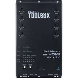 Gefen ToolBox 6x2 Matrix for HDMI 4K x 2K (Black)