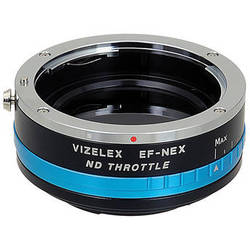 FotodioX Vizelex ND Throttle Adapter for Canon EF/EF-S Lenses to Sony E-Mount Cameras