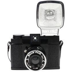 Lomography Diana F+ Medium Format Camera (Black Jack)