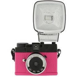 Lomography Diana Mini 35mm Camera with Flash (En Rose)