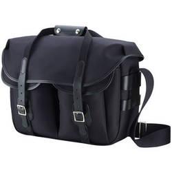 Billingham Hadley Large Pro Shoulder Bag (Black Canvas & Black Leather)