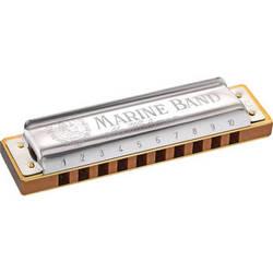Hohner Hohner Marine Band Harmonica with Retail Box (Key of G# Minor)