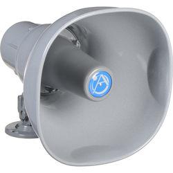 Atlas Sound AP-15T Horn Loudspeaker with 25/70.7/100V-15W Transformer (Gray)