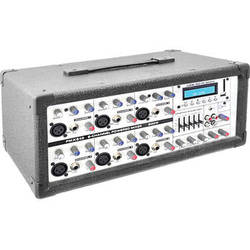 Pyle Pro PMX640BT Bluetooth 6-Channel 600-Watt Powered Mixer with MP3