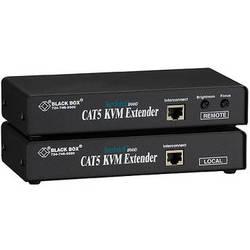 Black Box ACU1001A ServSwitch KVM (VGA/PS/2) over CAT5 Single-Access Extender Kit