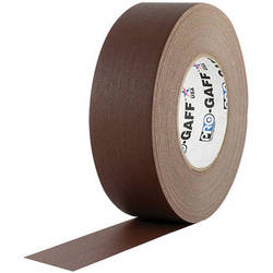 "Visual Departures Gaffer Tape - 2"" x 55 Yards (Brown)"