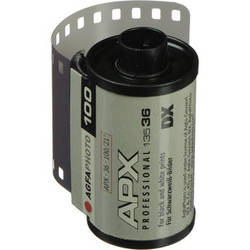 AgfaPhoto APX 100 Professional Black and White Negative Film (35mm Roll Film, 36 Exposures)