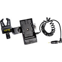 ikan Power Kit with Pinch Clamp for Blackmagic Pocket Cinema Camera (Canon LP-E6 Type Battery Plate)