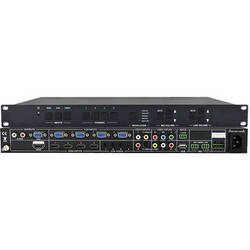 KanexPro 12-Input Classroom Presentation Switcher & Scaler with VGA & HDMI Out