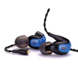 Westone W30 Triple-Driver with 3-Way Crossover In-Ear Monitor Headphone (Black)