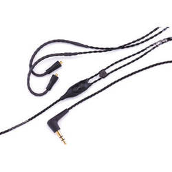 """Westone ES/UM Pro-Replacement Cable 52"""" Straight Twisted With MMCX Connector (Black)"""