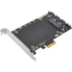 SIIG PCIe 2.0 SATA 6 Gb/s 3i+1 Hybrid Adapter with SSD Socket