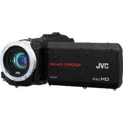 JVC GZ-R10BE Quad-Proof HD Camcorder (PAL, Black)