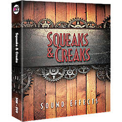 Sound Ideas DVD: Squeaks & Creaks Sound Effects