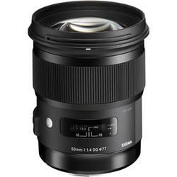 Sigma 50mm f/1.4 DG HSM Art Lens for Sigma SA