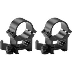 Barska 30mm High Weaver Style See Through Quick Release Rings by Barska