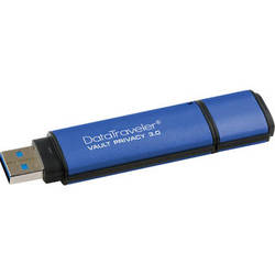 Kingston 8GB DataTraveler Vault Privacy 3.0 Standard USB Flash Drive