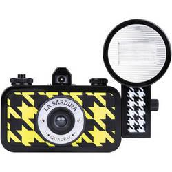 Lomography La Sardina Quadrat Camera with Flash