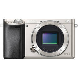 Sony Alpha a6000 Mirrorless Digital Camera Body (Silver)