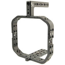 Chrosziel Black Custom Cage for BMCC with Integrated Baseplate