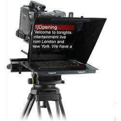 "Autoscript ELP15PLUS-S 15"" On Camera Prompter with Folding Hood"