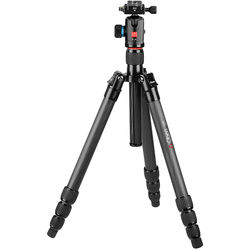 Oben CT-3481 Carbon Fiber Travel Tripod with BE-126T Ball Head