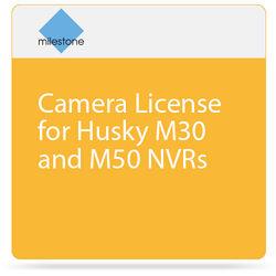 Milestone Camera License for Husky M30 and M50 NVRs