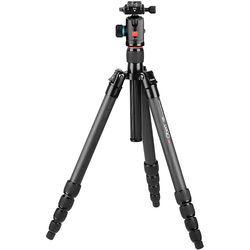 Oben CT-3581 Carbon Fiber Travel Tripod with BE-126T Ball Head