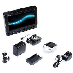 "ikan VK7I 7"" HDMI LCD Field Monitor, Canon LP-E6 Type Battery & Plate, Hood"