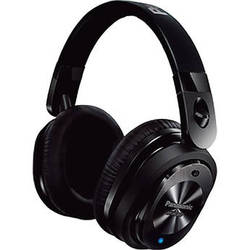 Panasonic HC800 Noise-Cancelling iOS Over-Ear Headphones (Black)
