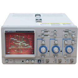 Compuvideo HDMI, Composite, and Y/C NTSC Waveform Monitor/Vectorscope