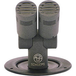 Schoeps T2 CCM 4Ug Double Tabletop Microphone with Integral Desk Stand