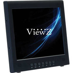 "ViewZ RTC Series VZ-097RTC 9.7"" Commercial-Grade LED Backlit CCTV Monitor (Black)"