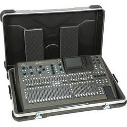 "SKB Mixer Safe 34 Universal Mixing Board Case for Behringer X32 Mixer & 36.5 x 21"" Non-Rackable Mixers"