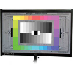 DSC Labs ChromaDuMonde 12+4 Maxi CamAlign Chip Chart with CavityBlack