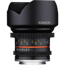 Rokinon 12mm T2.2 Cine Lens for Canon EF-M Mount