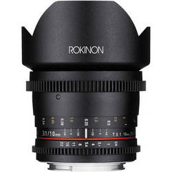 Rokinon 10mm T3.1 Cine Lens for Canon EF Mount